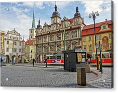 Early Morning In Prague Acrylic Print