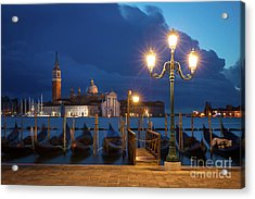 Acrylic Print featuring the photograph Early Morning In Venice by Brian Jannsen