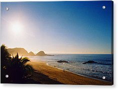 Early Morning In Zipolite 2 Acrylic Print by Lyle Crump