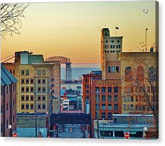 Early-morning Light In Duluth Acrylic Print