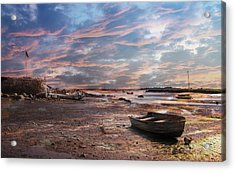 Early Morning Low Tide On The North Shore Acrylic Print