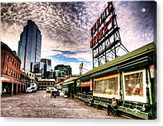 Early Morning Market Acrylic Print by Spencer McDonald