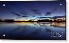Early Morning On Lake Lanier Acrylic Print by Bernd Laeschke