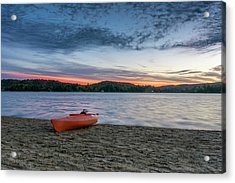 Early Morning On Oxtongue Lake Acrylic Print
