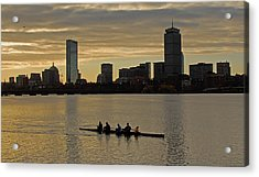 Early Morning On The Charles River Acrylic Print