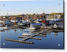 Early Morning On The Merrimack River Acrylic Print