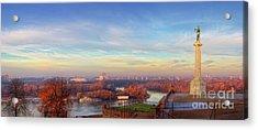 Early Morning Acrylic Print by Panorama Guru