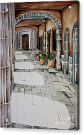 Early Morning San Miguel Acrylic Print