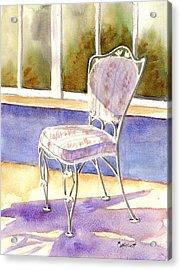 Early Morning Shadows Acrylic Print by Marsha Elliott