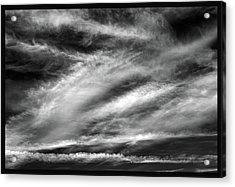 Acrylic Print featuring the photograph Early Morning Sky. by Terence Davis