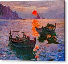 Early Morning Acrylic Print by Xichang Sun