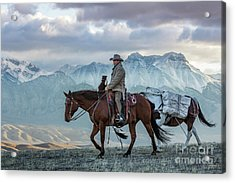 Early October Hunt Wild West Photography Art By Kaylyn Franks Acrylic Print
