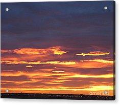 Early Prairie Sunrise Acrylic Print