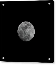 Early Spring Moon 2017 Acrylic Print