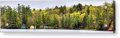Early Spring Panorama Acrylic Print by David Patterson