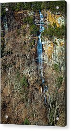 Early  Spring Waterfall  Acrylic Print