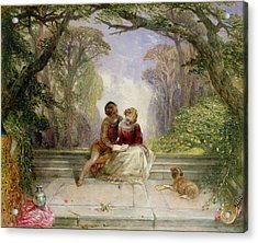 Early Summer Acrylic Print by Alfred Woolmer