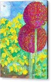 Early Summer Garden Acrylic Print