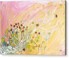 Early Summer Winds Acrylic Print by Christine Alfery