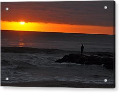 Early To Rise Acrylic Print by Joe  Burns