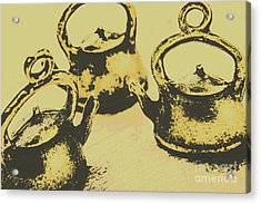 Early Vintage Tea Acrylic Print