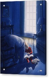 Early Will I Seek Thee Acrylic Print by Cliff Hawley