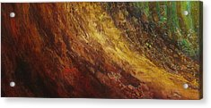 Earth A Acrylic Print by Pure Abstract