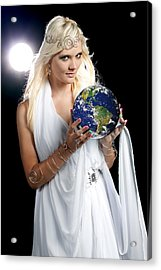 Earth Angel Acrylic Print