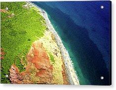 Earth Below, Na Pali Coast, Kauai Hawaii Acrylic Print