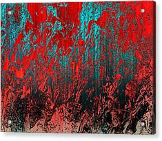 Earth Crime Pandemic Acrylic Print by Andy Readman