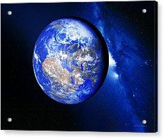 Earth Acrylic Print by Detlev Van Ravenswaay