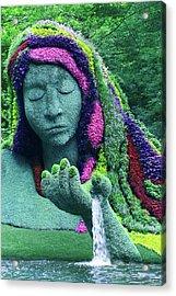 Earth Goddess Acrylic Print