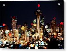 Earth Hour Spots A354 Acrylic Print by Yoshiki Nakamura