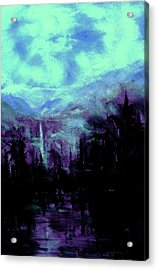 Earth Light Series Nocturne Acrylic Print