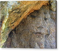 Acrylic Print featuring the photograph Earth Memories-stone # 4 by Ed Hall