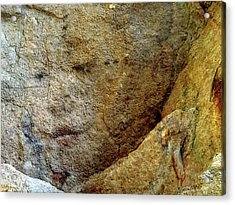 Acrylic Print featuring the photograph Earth Memories - Stone # 5 by Ed Hall