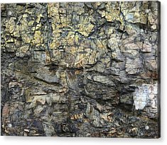 Acrylic Print featuring the photograph Earth Memories - Stone # 6 by Ed Hall