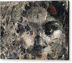 Acrylic Print featuring the photograph Earth Memories - Stone # 7 by Ed Hall
