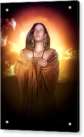 Earth Mother Acrylic Print