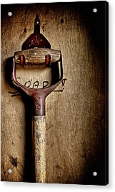 Earth Moving Controls Acrylic Print by Odd Jeppesen