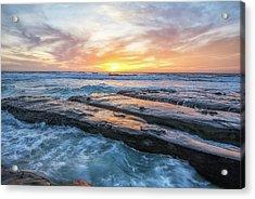 Earth, Sea, Sky Acrylic Print