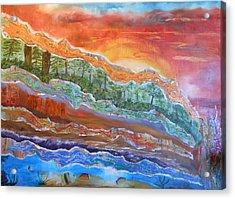 Earth Tones Acrylic Print