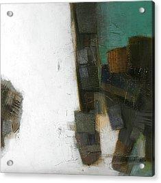 Earth Pattern Acrylic Print by Behzad Sohrabi