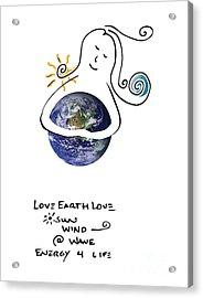 Earthhugger Acrylic Print