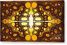 Earthly Awareness Abstract Organic Artwork By Omaste Witkowski Acrylic Print