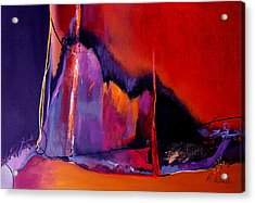 Earthquakes In Divers Places Acrylic Print by Ruth Palmer