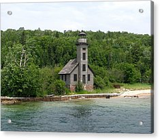 East Channel Lighthouse Acrylic Print by Keith Stokes