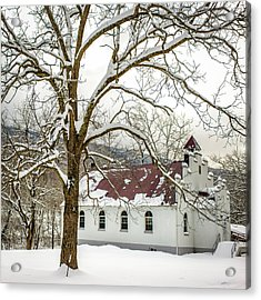 East Chapel Church Acrylic Print