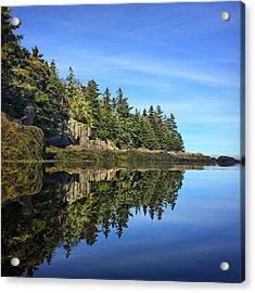 East Coast Reflection Acrylic Print