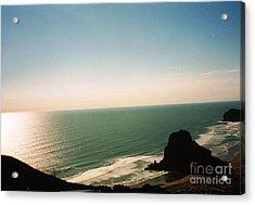 East Coastline In New Zealand Acrylic Print